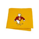 Gold Sweatshirt Blanket-Sammy the Sea Gull