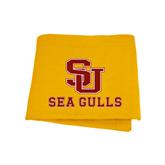 Gold Sweatshirt Blanket-SU Sea Gulls