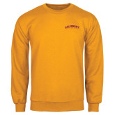 Gold Fleece Crew-Arched Salisbury University