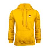 Gold Fleece Hoodie-Sammy the Sea Gull