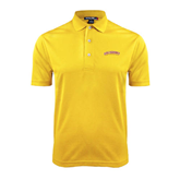 Gold Dry Mesh Polo-Arched Salisbury University