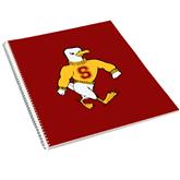 College Spiral Notebook w/Clear Coil-Sammy the Sea Gull