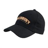 Black Heavyweight Twill Pro Style Hat-Arched Salisbury University