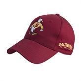Maroon Heavyweight Twill Pro Style Hat-Sammy the Sea Gull