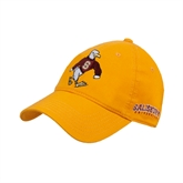 Gold Twill Unstructured Low Profile Hat-Sammy the Sea Gull