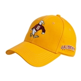Gold Heavyweight Twill Pro Style Hat-Sammy the Sea Gull