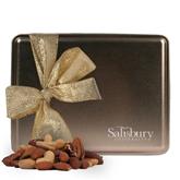 Deluxe Nut Medley Gold Large Tin-Salisbury University Engraved