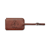 Fabrizio Brown Luggage Tag-Sammy the Sea Gull Engraved