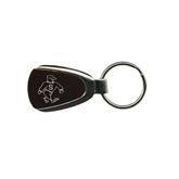 Maroon Teardrop Key Holder-Sammy the Sea Gull Engraved