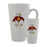 Full Color Latte Mug 17oz-Sammy the Sea Gull