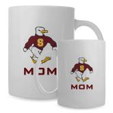 Mom Full Color White Mug 15oz-Sammy the Sea Gull Mom