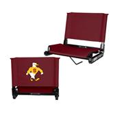 Stadium Chair Maroon-Sammy the Sea Gull