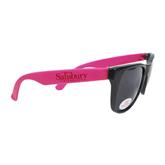 Black/Hot Pink Sunglasses-Salisbury University
