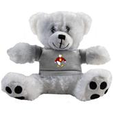 Plush Big Paw 8 1/2 inch White Bear w/Grey Shirt-Sammy the Sea Gull