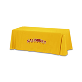 Gold 6 foot Table Throw-Arched Salisbury University
