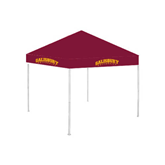 9 ft x 9 ft Maroon Tent-Arched Salisbury University