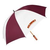 62 Inch Maroon/White Umbrella-Arched Salisbury University