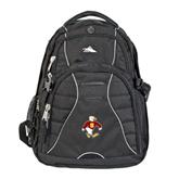 High Sierra Swerve Black Compu Backpack-Sammy the Sea Gull