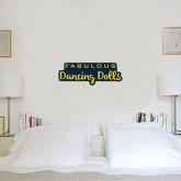 1 ft x 2 ft Fan WallSkinz-Fabulous Dancing Dolls Wordmark