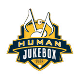 Medium Decal-The Human Jukebox Official Mark, 8in Tall