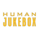 Medium Decal-Human Jukebox Wordmark, 8in Wide