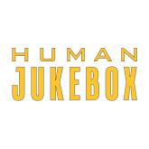 Medium Decal-Human Jukebox Wordmark, 8in Wide