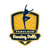 Medium Decal-Fabulous Dancing Dolls Official Mark, 8in Tall