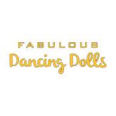 Medium Decal-Fabulous Dancing Dolls Wordmark, 8in Wide
