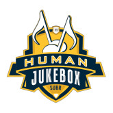 Large Decal-The Human Jukebox Official Mark, 12in Tall