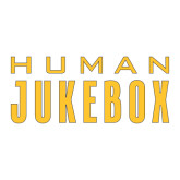 Large Decal-Human Jukebox Wordmark, 12in Wide