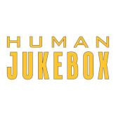 Large Decal-Human Jukebox Wordmark, 12in Wide