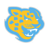 Small Decal-Jaguar Head, 6 inches wide