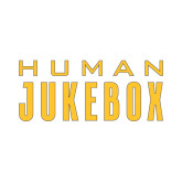 Small Decal-Human Jukebox Wordmark, 6in Wide