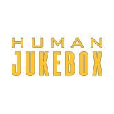 Small Decal-Human Jukebox Wordmark, 6in Wide