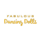 Small Decal-Fabulous Dancing Dolls Wordmark, 6in Wide
