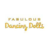 Small Decal-Fabulous Dancing Dolls Wordmark, 6in Wide