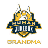 Small Decal-The Human Jukebox - Grandma, 6in Tall
