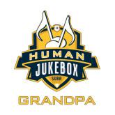 Small Decal-The Human Jukebox - Grandpa, 6in Tall