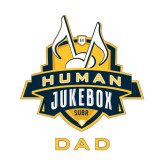 Dad Decal-The Human Jukebox - Dad, 6in Tall