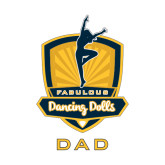 Dad Decal-Fabulous Dancing Dolls - Dad, 6in Tall