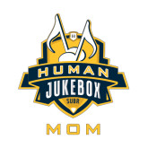 Mom Decal-The Human Jukebox - Mom, 6in Tall
