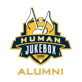 Alumni Decal-The Human Jukebox - Alumni, 6in Tall