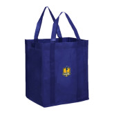 Non Woven Navy Grocery Tote-Fabulous Dancing Dolls Official Mark