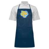 Full Length Navy Apron-Jaguar Head