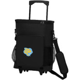 30 Can Black Rolling Cooler Bag-Jaguar Head