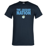 Navy T Shirt-The Jaguar Nation