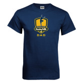 Navy T Shirt-Fabulous Dancing Dolls - Dad