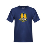 Youth Navy T Shirt-Fabulous Dancing Dolls Official Mark
