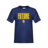 Youth Navy T Shirt-Future Jukebox Member