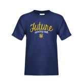 Youth Navy T Shirt-Future Dancing Doll